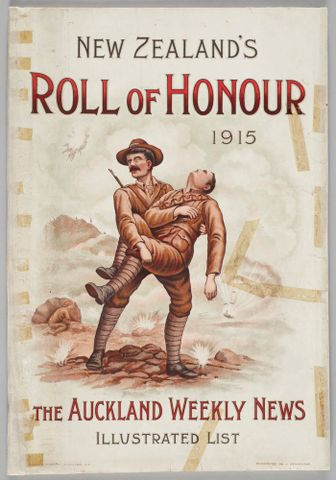 New Zealand's Roll of Honour 1915 The Auckland Weekly News Illustrated List