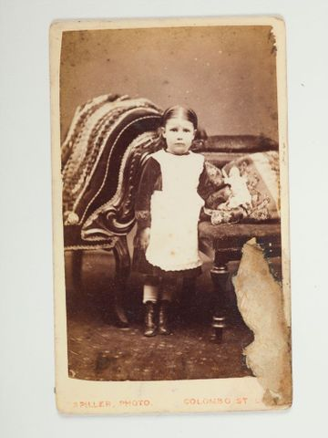 O.021489; Little girl; Spiller, John (image/tiff)
