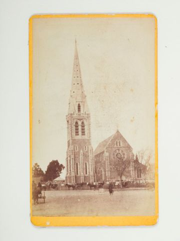 O.021567; Cathedral, Christchurch; 1880 s; F Wheeler and Son (image/tiff)