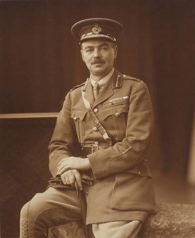 Brigadier General Melvill, 1920s, London, by Henry Barnett. Gift of the New Zealand Army, 1946. Te Papa (O.009482)