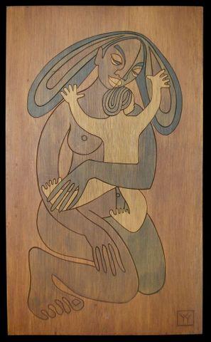 Pauline Kahurangi Yearbury and James Yearbury, <EM>Papa-tu-a-nuku</EM>, Russell Museum/Te Whare Taonga o Kororareka