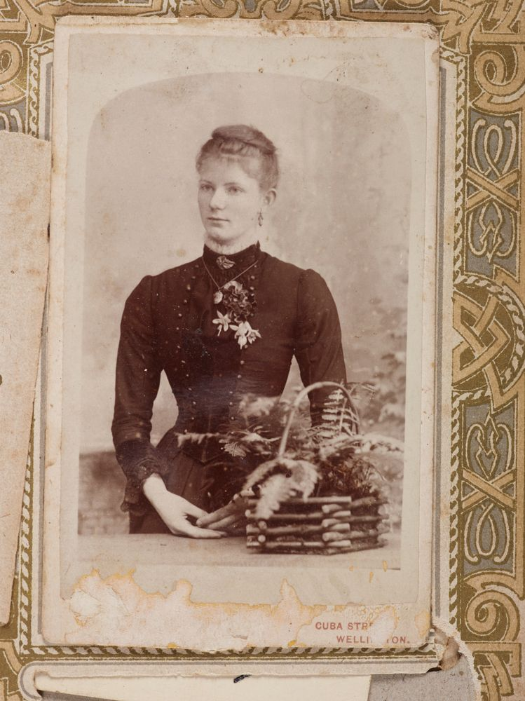 O038206 Portrait Of An Unidentified Woman From The Album Guard Family