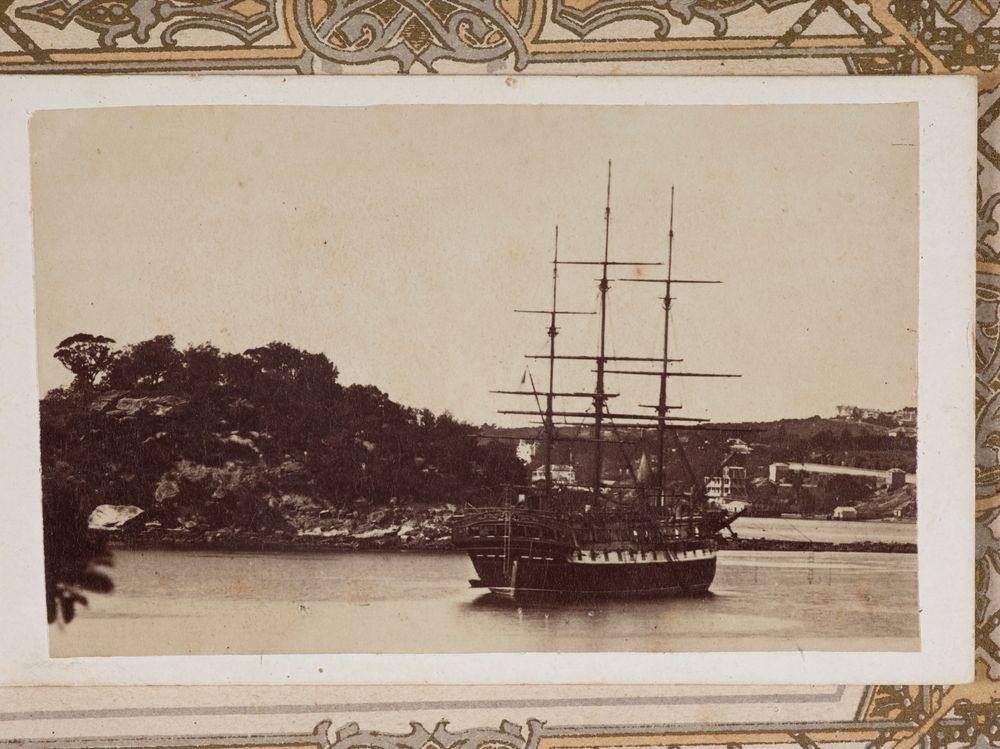 O038284 Cleopatra Being Towed Into Greymouth From The Album Guard Family