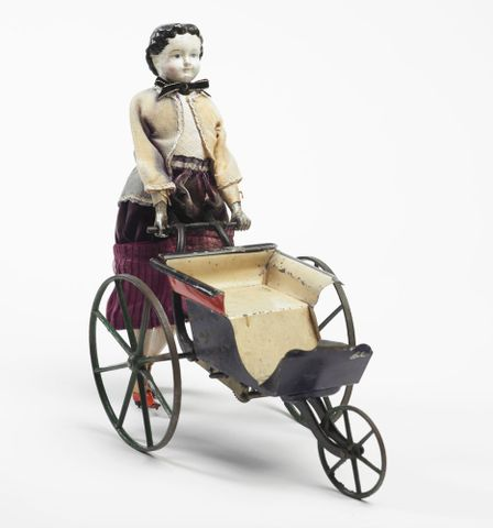 PC000570; Mechanical doll and perambulator; circa 1868; Goodwin, William M Farr ; view 2 (image/tiff)