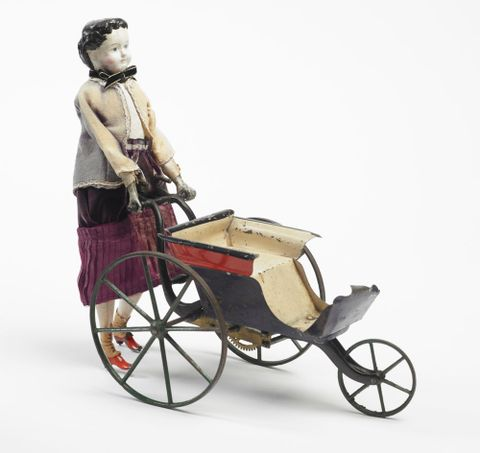PC000570; Mechanical doll and perambulator; circa 1868; Goodwin, William M Farr ; view 3 (image/tiff)