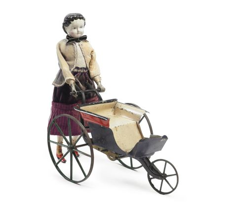 PC000570; Mechanical doll and perambulator; circa 1868; Goodwin, William M Farr (image/tiff)