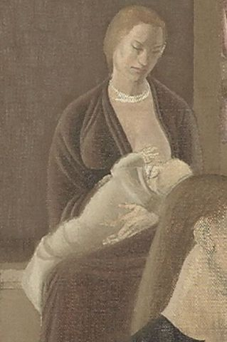 Winifred Knights, <EM>The marriage at Cana</EM> (detail), 1923