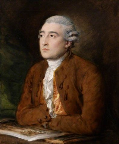 Thomas Gainsborough, <EM>Portrait of Philippe de Loutherbourg</EM>, 1778 or before. By permission of the Trustees of Dulwich Picture Gallery.