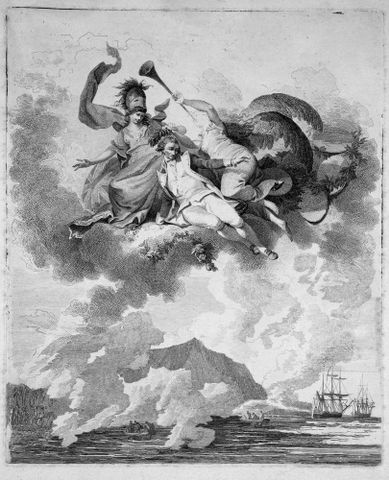 Philippe Jacques de Loutherbourg, <EM>The Apotheosis of Captain Cook</EM>, 1794, Alexander Turnbull Library, Wellington