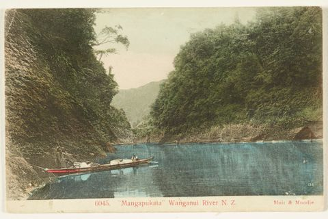 Mangapukata, Wanganui River, New Zealand