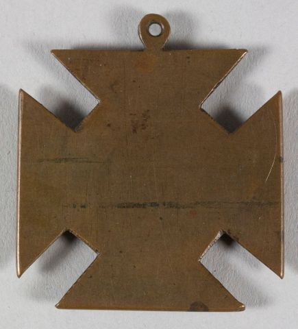 NU007157; Anti-militarism medal; 1912; Unknown (image/tiff)