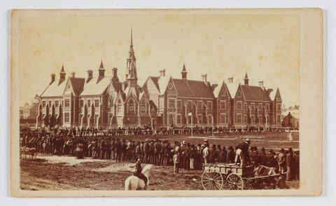 O.005425; Normal School, Christchurch; late 1870s; Unknown (image/tiff)