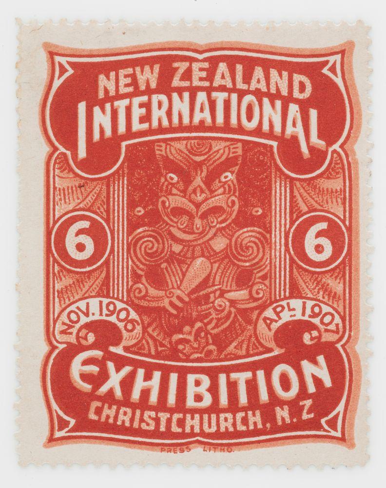 Cinderella, Christchurch Exhibition label No  6