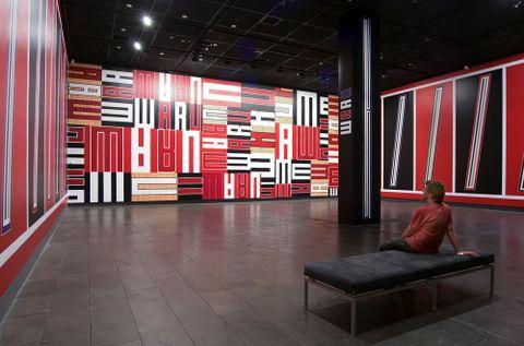 Darryn George, <EM>Pulse</EM>, 2008, installed at Christchurch Art Gallery