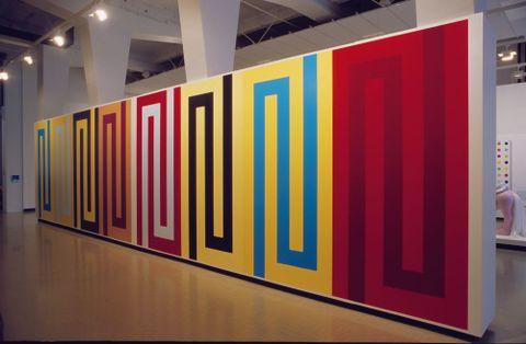 Darryn George, <EM>Hone Kairiirii</EM>, 2004, installed at City Gallery Wellington