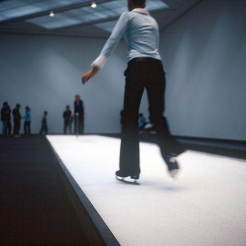 Maddie Leach, <EM>Gallery Six: The Ice Rink & The Lilac Ship</EM>, 2002