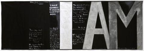 Colin McCahon, <EM>Victory over death 2</EM>, 1970. National Gallery of Australia