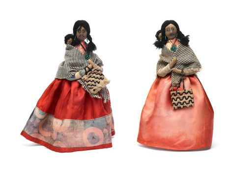 Bessie Murray dolls PC004224 and GH003664 (image/tiff)