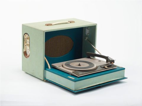 GH012685; Record player; 1950s-1960s; Birmingham Sound Reproducers ; view 02 (image/tiff)