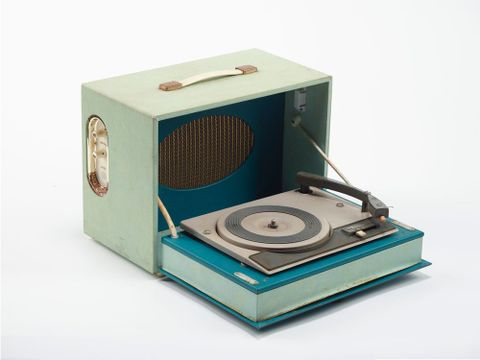 GH012685; Record player; 1950s-1960s; Birmingham Sound Reproducers ; view 03 (image/tiff)