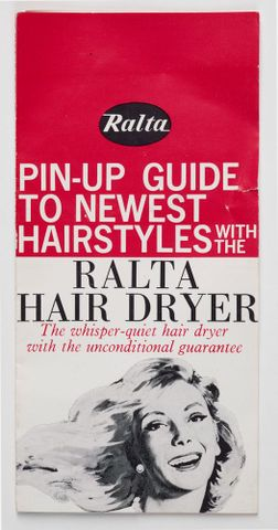 GH009914; Hair dryer; 1967; Ralta Limited (image/tiff)