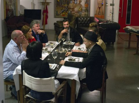 Richard Bell, <EM>The dinner party</EM>, video, 2013