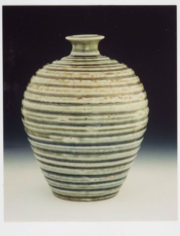 Photographs of pots (previously owned by Helen Hitchings) purchased by Museum
