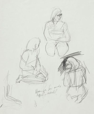 Untitled. From the series: 22 drawings for Nga Morehu