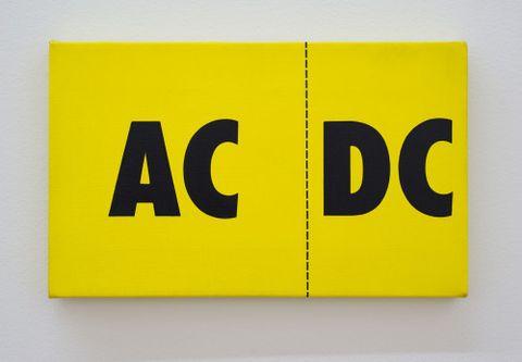 Billy Apple, <EM>AC/DC</EM>, 1986, Dunedin Public Art Gallery