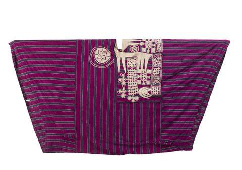 Robe, Hausa, before 1901, Nigeria, maker unknown. Gift of E W Bergin, 1966. Te Papa (FE004454)