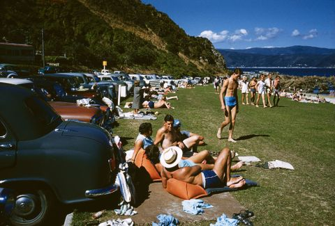 CT.031876; Scorching Bay, Wellington; March 1960; Brake, Brian (image/tiff)