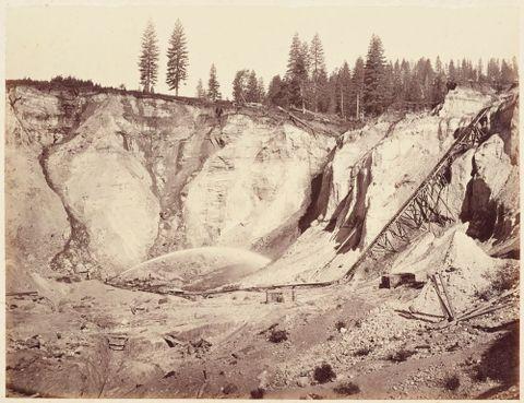 <EM>Relief Hill, Nevada County</EM> by Carleton Watkins