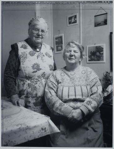 Hidden Lives: the work of care. Gladys Thetford and her daughter Audrey