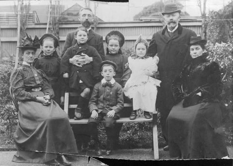 Unknown, The Beauchamp family, circa 1896