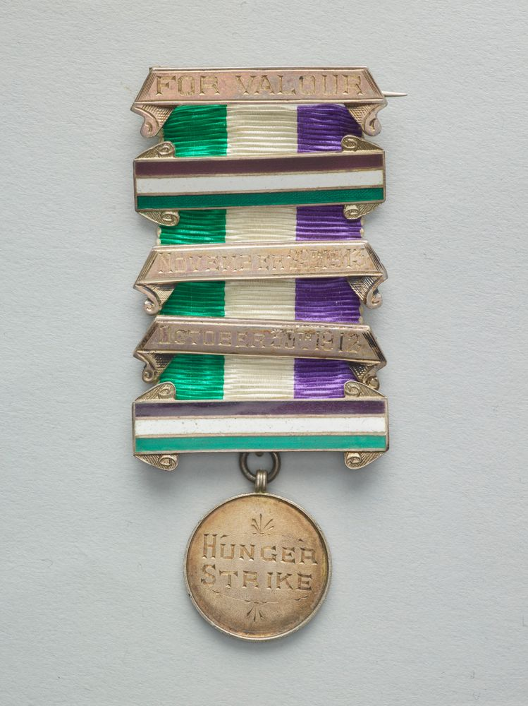 GH024772; Women's Social and Political Union Medal for Valour; 1912; Toye & Co. ; view 1
