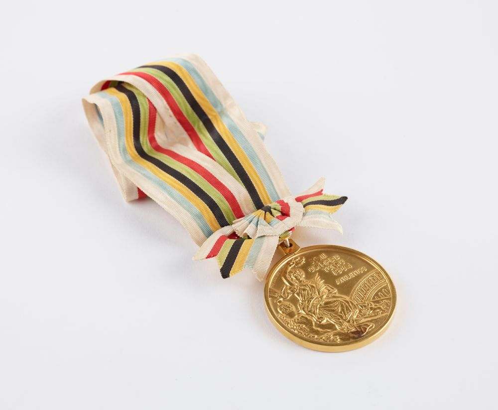 TMP026533; Olympic gold medal; 1964; International Olympic Committee ; view 01