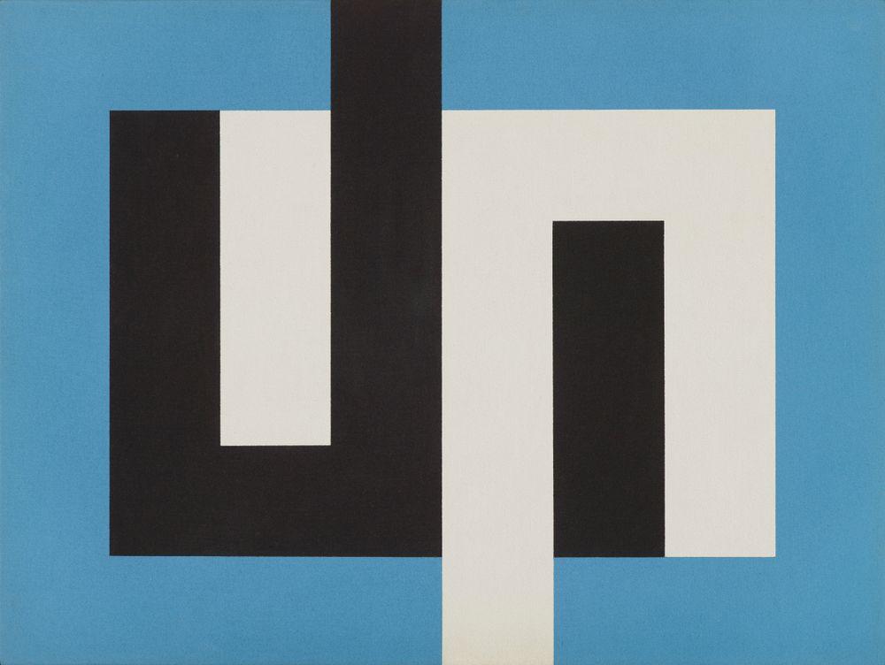 2006-0020-1; Painting J; circa 1974; Walters, Gordon ; view 1