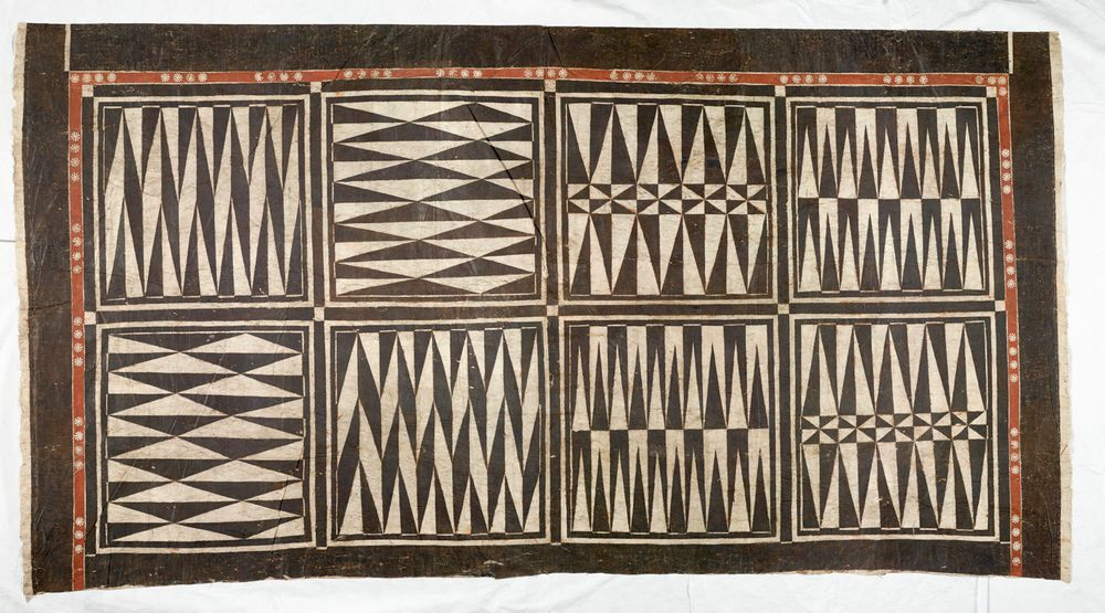 FE004086/3; Masi (tapa cloth); Fijian; Unknown ; view 1