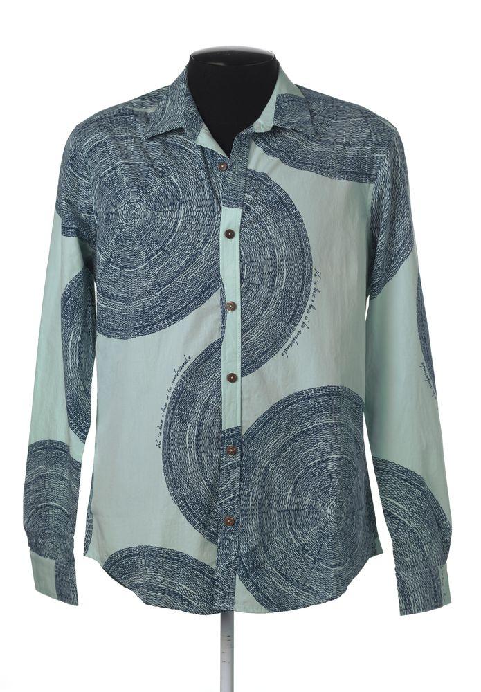 TMP030626; Hīna'i Kahikiku shirt; Hawaiian; Kealopiko ; view 1