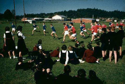 New Zealand Recreation: School Football - Waihi