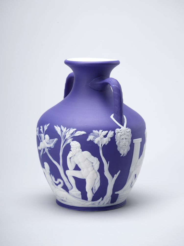 Copy Of The Portland Vase Collections Online Museum Of New