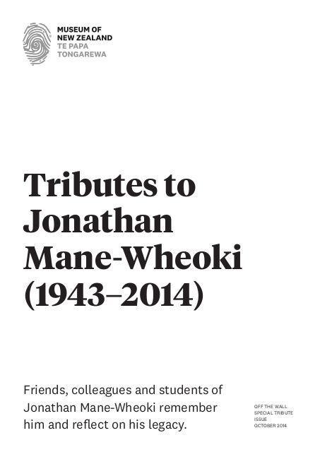 Jonathan Mane-Wheoki