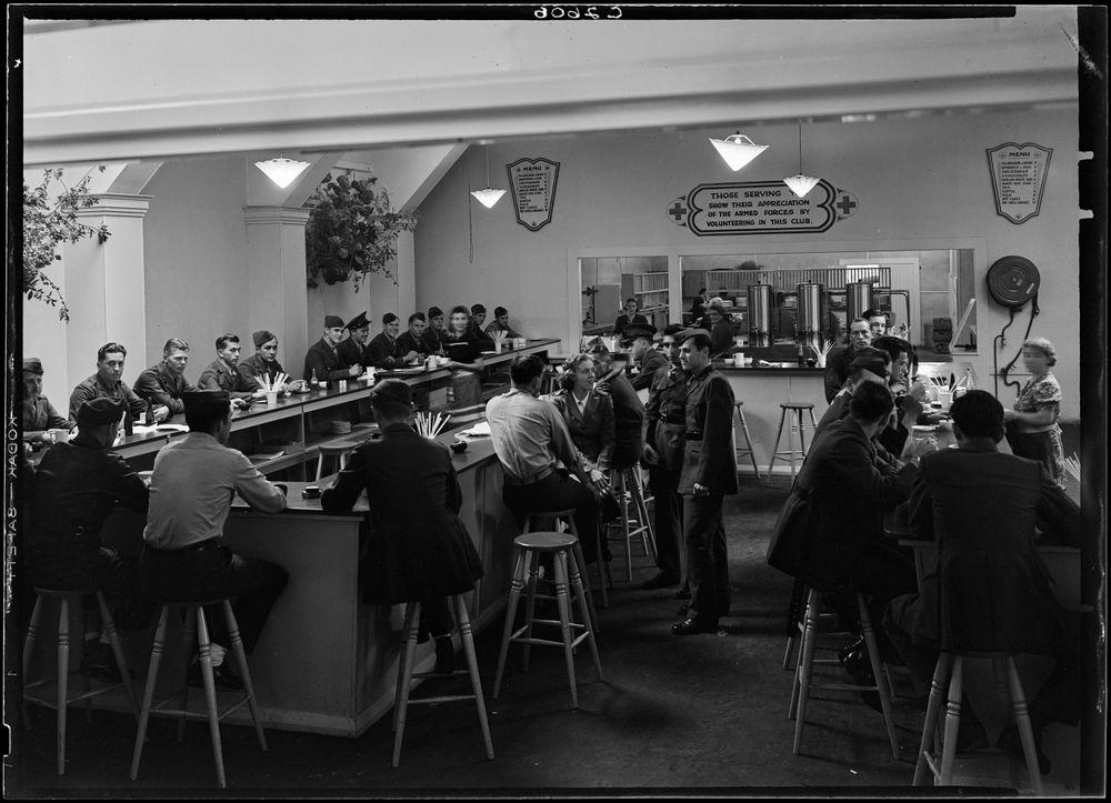 78c4592a B.026482; American Red Cross Service Club, Masterton; 1939-1945; ...