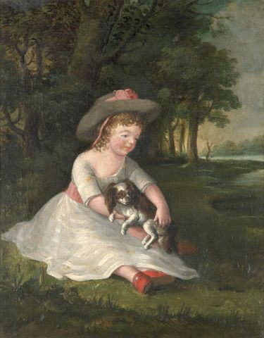 Portrait of George Dawe as a child