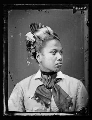 "Maori woman, ""Mrs Stewart"""