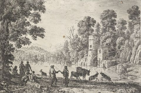 Biography of Claude Lorrain