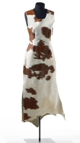 Cowhide Dress