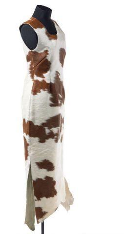 Cowhide Dress