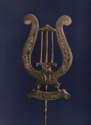 A.018214; Jiedertafel [?] Badge; 1914; Walrond, Robert (image/tiff)