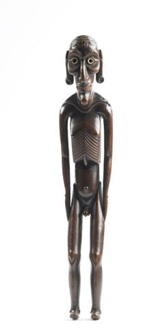 OL000342; Moai kavakava (human figure); 1800s; unknown ; view 1 (image/tiff)